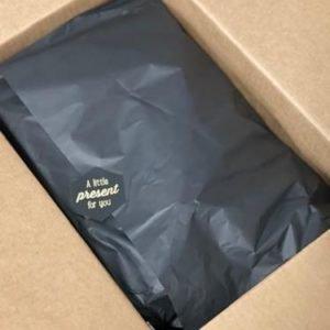 geschenk in doos verpakt