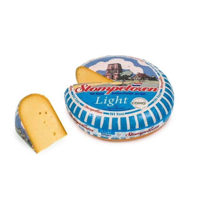 Stompetoren Belegen 30+ light kaas