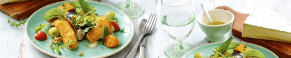 brie-salade recept