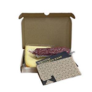 brievenbuskaas borrelbox kaas en worst