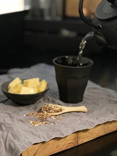 sfeerfoto kaas en thee